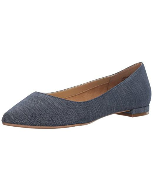 Aerosoles - Blue Hey Girl Ballet Flat - Lyst