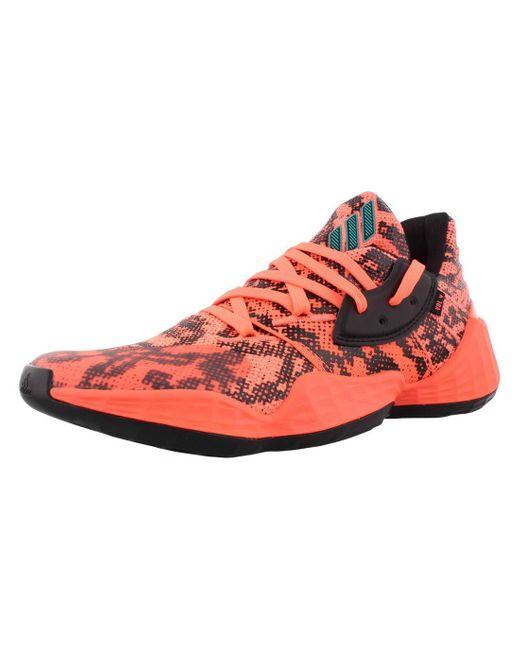 Basketball Harden Vol. 4 Shoes Adidas pour homme en coloris Pink
