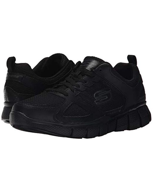 really comfortable 100% authenticated size 7 Men's Equalizer 2.0 On Track S Trainers Black 16 Eww