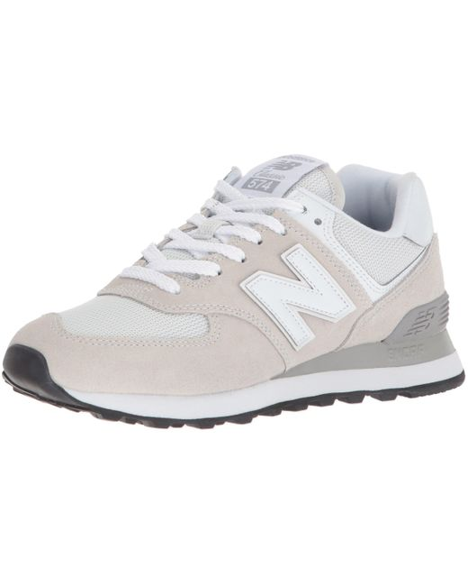 New Balance Rubber 574 Womens Casual Trainers In Pink - 7 Uk in ...