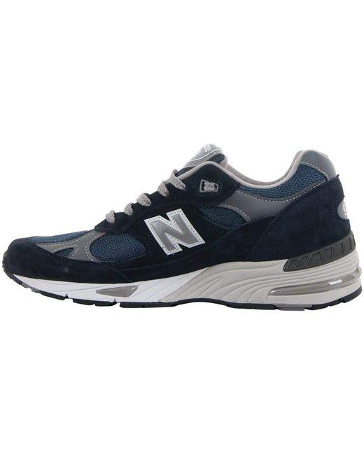 New Balance M991, NV Navy, 14 in Blue für Herren