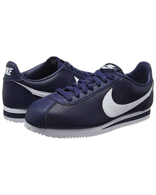 sports shoes 49af7 49e79 Men's Blue Classic Cortez Running Shoes