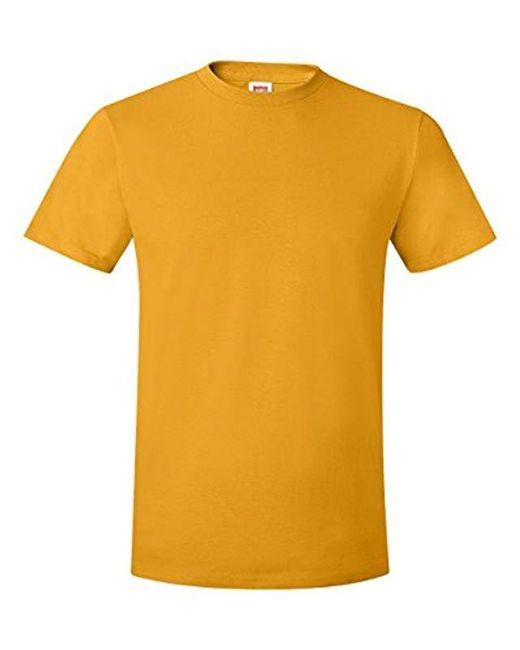 Hanes Metallic Nano Premium Cotton T-shirt (pack Of 2) for men