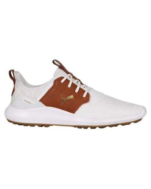 Ignite Nxt Crafted Golf Shoe PUMA pour homme en coloris Brown