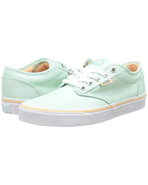 hot-selling clearance quality and quantity assured release date: Vans Wm Atwood Low-top Sneakers in Green - Lyst