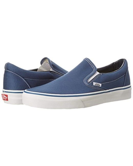 c224f4ccef Vans Unisex Adults  Classic Slip On in Blue for Men - Lyst