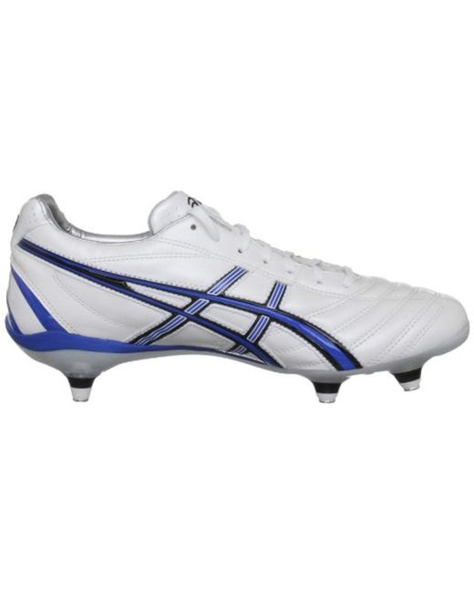 5c7e13a4aaa85 Asics Lethal Flash Ds St Rugby Boots in Blue for Men - Lyst
