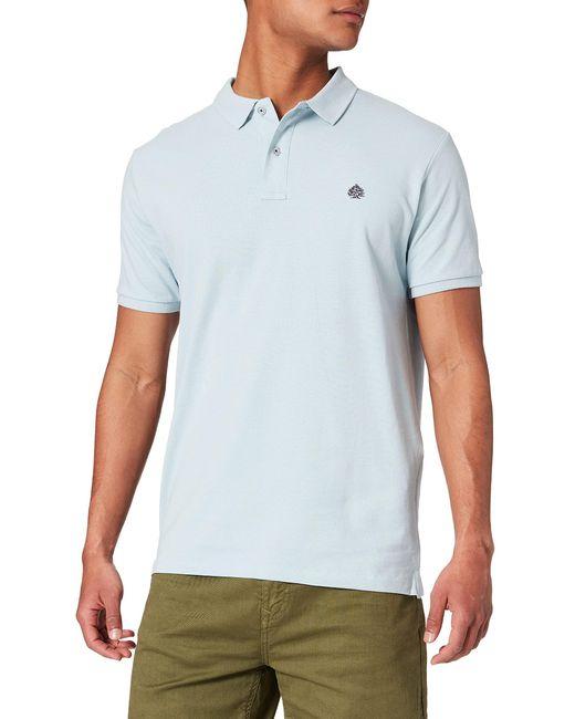 Polo BÁSIC Slim ORGÁNICO Camiseta Springfield de hombre de color Blue