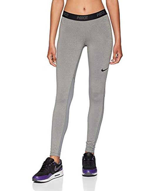 Nike Gray Victory Baselayer Tights