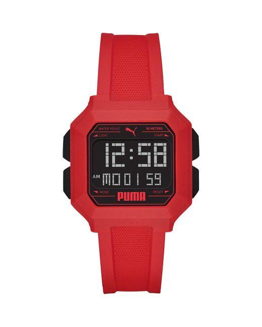 Montres-Bracelets pour s P5055 PUMA pour homme en coloris Rouge - Lyst