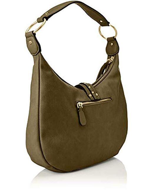 500d8b83758 ... Guess - Green Dixie Shoulder Bag - Lyst ...