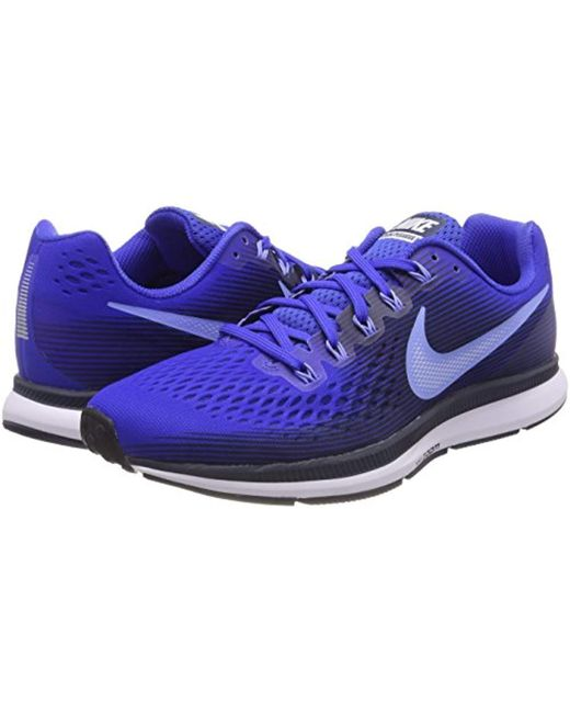b224969deae20 ... Nike - Blue Air Zoom Pegasus 34 Running Shoes for Men - Lyst ...