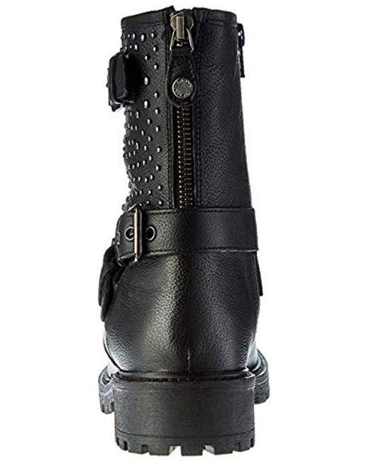 Geox Damen D HOARA C Biker Boots