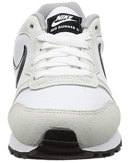 892deb13a7581 Women's Wmns Md Runner 2, Trainers, Off White (white / Black / Wolf Grey),  5 Uk (38.5 Eu)
