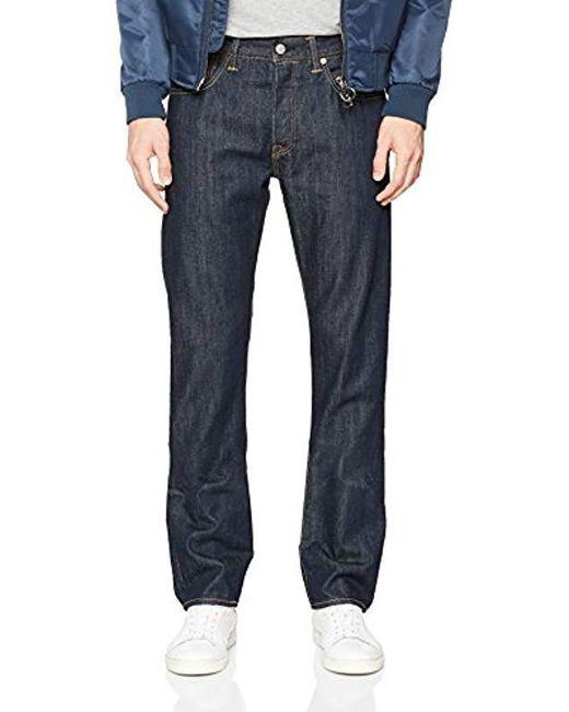 9c3ab35de75 Levi's - Blue 501 Original Fit Jeans for Men - Lyst ...