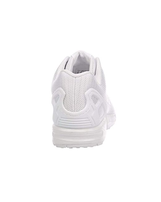 adidas Originals Zx Flux Trainers Aluminumwhite for Men Lyst