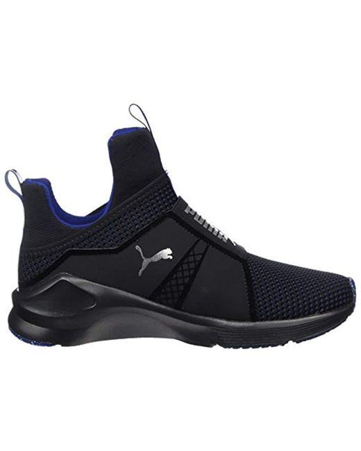 febce591515 ... PUMA - Black Fierce Velvet Vr Fitness Shoes - Lyst ...