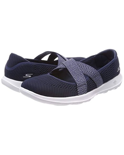 Women's Blue 15407 Mary Janes