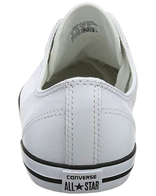 c9b288b5706 ... Converse - White Chuck Taylor All Star Dainty Low-top Sneakers - Lyst  ...