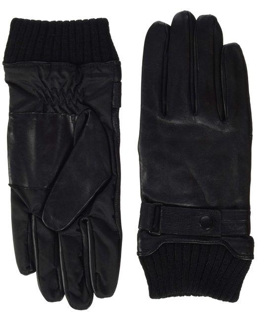 Accessoires 118ea2r003 Gants Esprit pour homme en coloris Black
