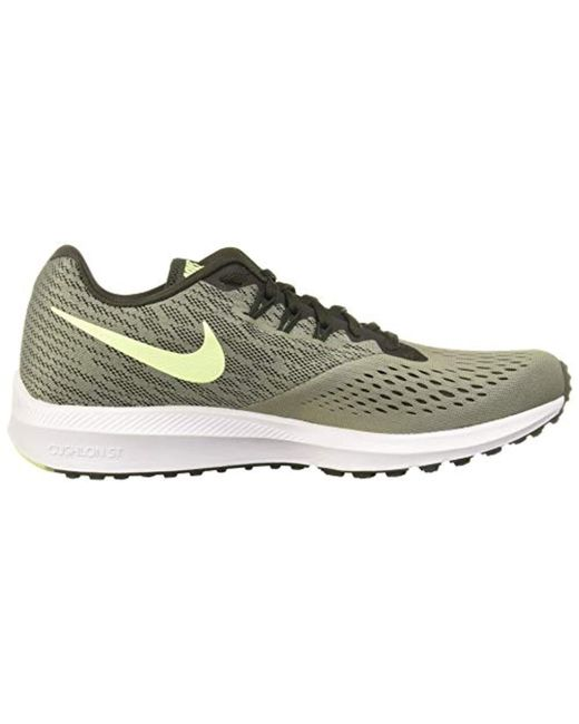 2018 shoes detailed pictures aliexpress Nike Zoom Winflo 4 Running Shoes in Green for Men - Save 32 ...