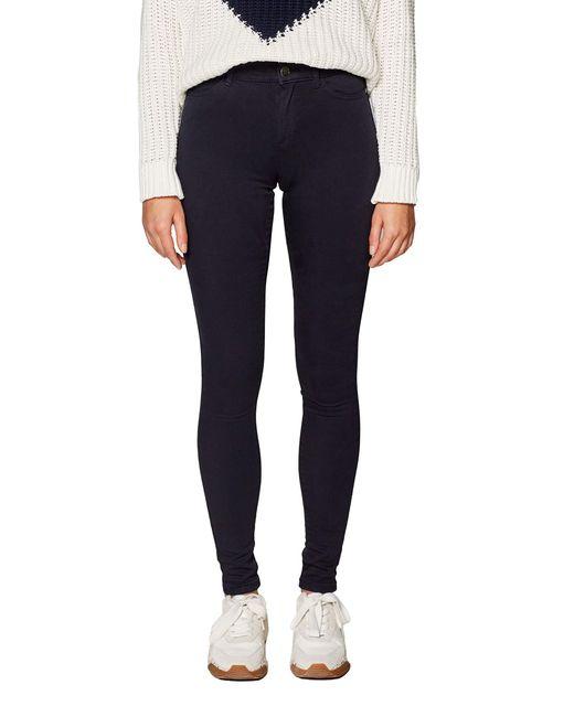 019ee1b013 Pantalon Esprit en coloris Blue
