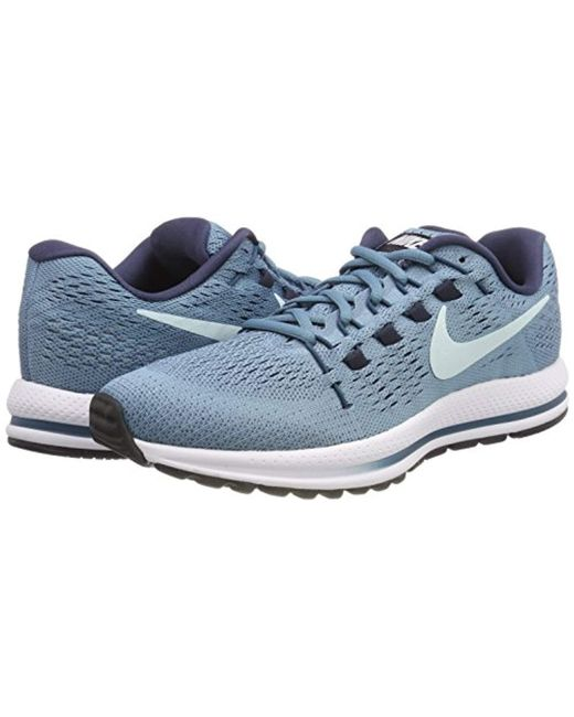 sports shoes ca62b daa75 Women's Blue Wmns Air Zoom Vomero 12 Running Shoes