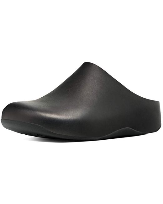 Fitflop Black Shuv Leather