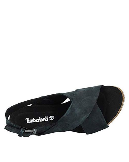 Timberland Capri Sunset X Band Sandals Jet Black