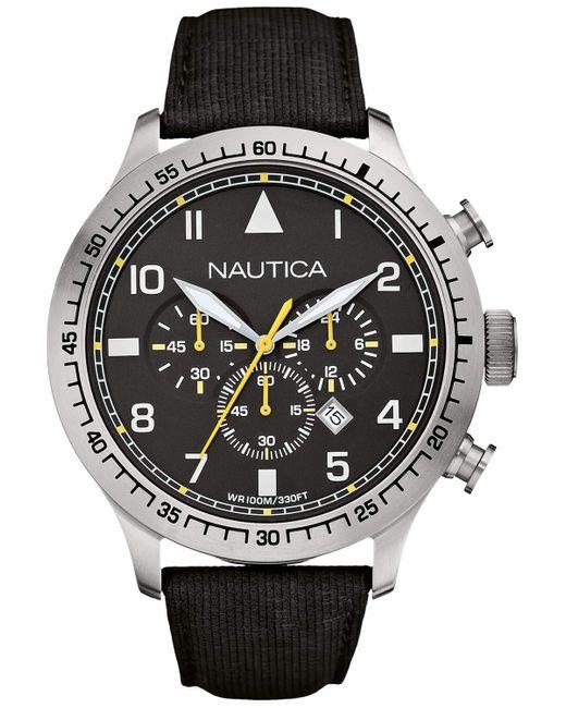 Orologio analogico A17632G di Nautica in Black da Uomo