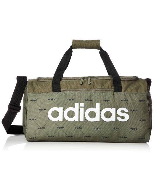 Linear Core Duffel di Adidas in Brown