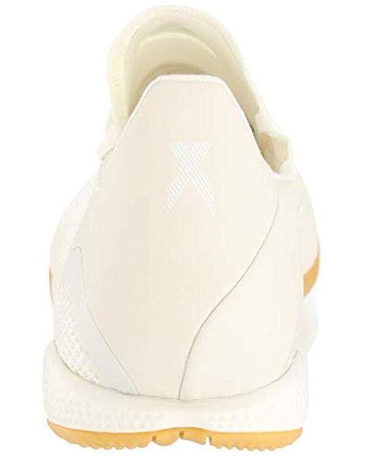 online store 8e2a9 4f1c4 Men's White X Tango 18.3 Indoor Soccer Shoe