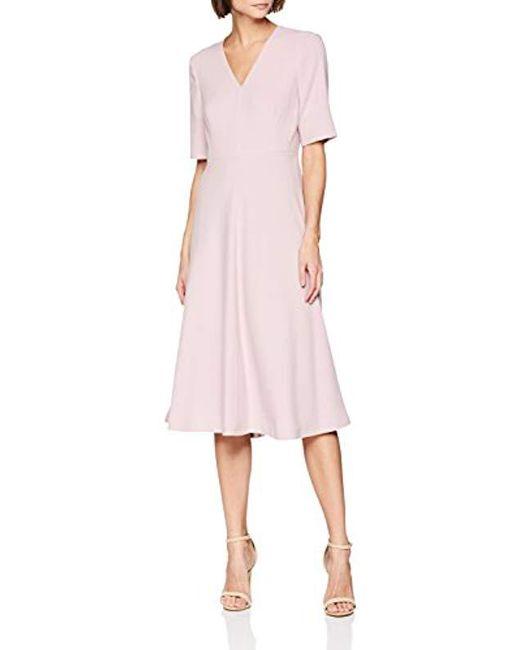 L.K.Bennett Pink Rosala Party Dress