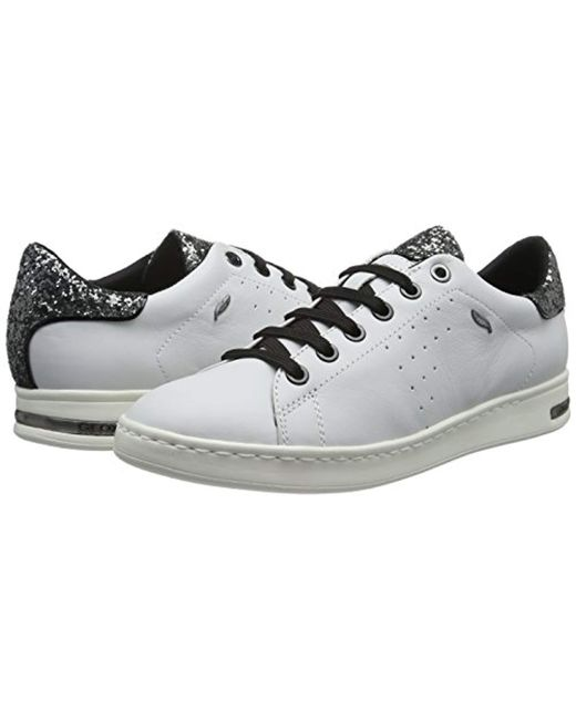 41935d25f889 Geox D Jaysen A Low-top Sneakers in White - Save 23% - Lyst