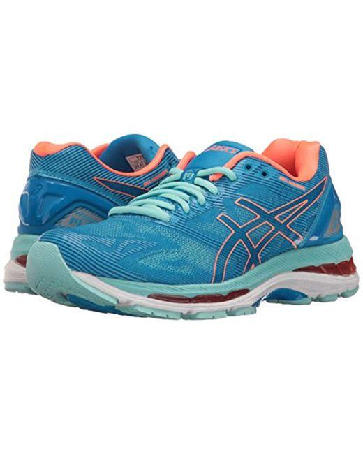 pretty nice 0918c 88dfd Women's Blue Gel-nimbus 19 Running Shoe