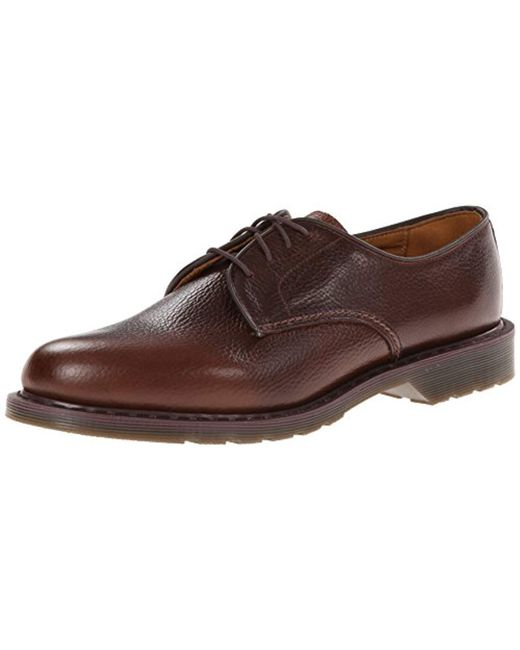 release date big discount quality design Dr. Martens Cotton Octavius New Nova Dk Brown Derbys for Men ...