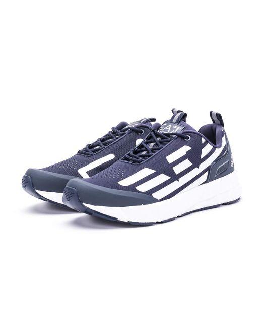Emporio Armani EA7 Ultimate Racer Sneaker Blau 43 EU in Blue für Herren