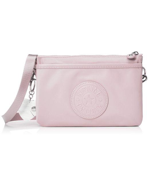 RiRi Sac à bandoulière Rose pâle Kipling en coloris Pink