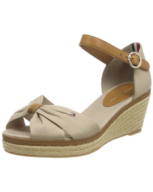 Tommy Hilfiger Multicolor Iconic Elba Closed Toe Sandals