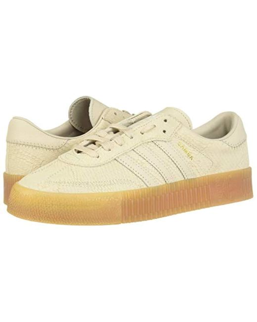 0c50786748f6b adidas Leather Sambarose W Fitness Shoes - Lyst