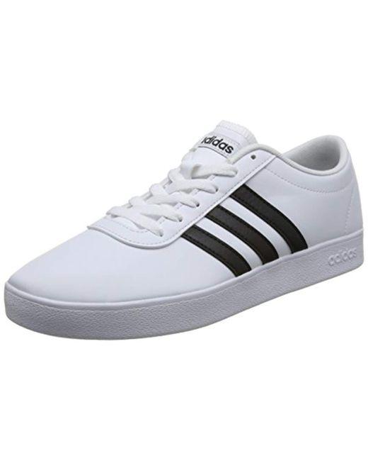Adidas - White Easy Vulc 2.0 Skateboarding Shoes for Men - Lyst ... 1e4af8095