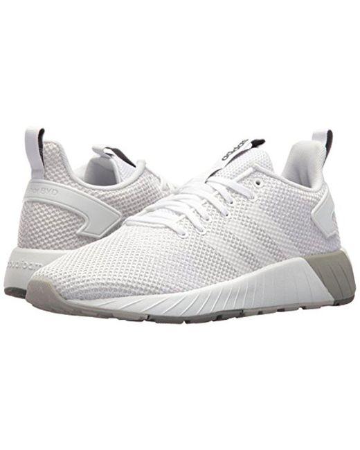lyst adidas questar da / bianco / grigio, bianco, due sono in bianco