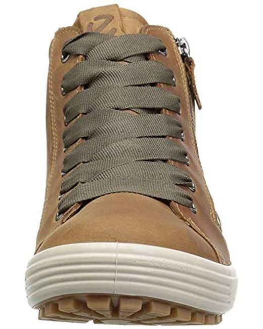 daad52cf Ecco S Soft 7 Tred Gtx Hi Ankle Boots in Brown - Save 26% - Lyst