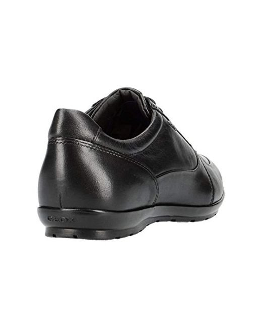 Geox Uomo Symbol B Trainers in Black for Men Save 4% Lyst