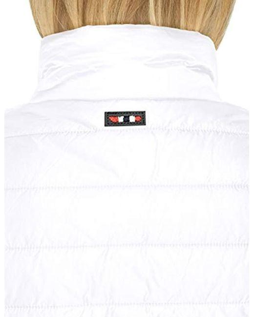 Napapijri Acalmar W Jacket in White Lyst