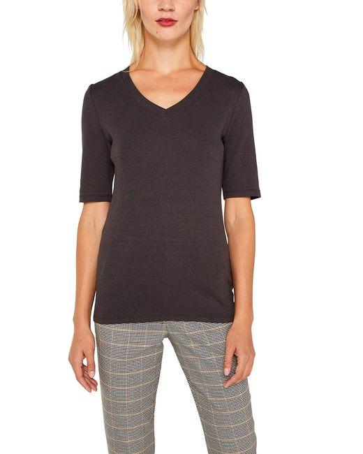 089ee1k021 Camiseta Esprit de color Gray
