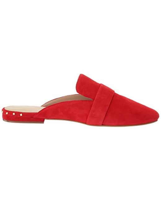 197cd2c139c Lyst - Cole Haan S Deacon Loafer Mule in Red - Save 41%