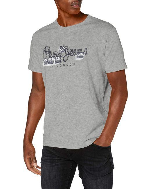 Pepe Jeans T-Shirt in Gray für Herren