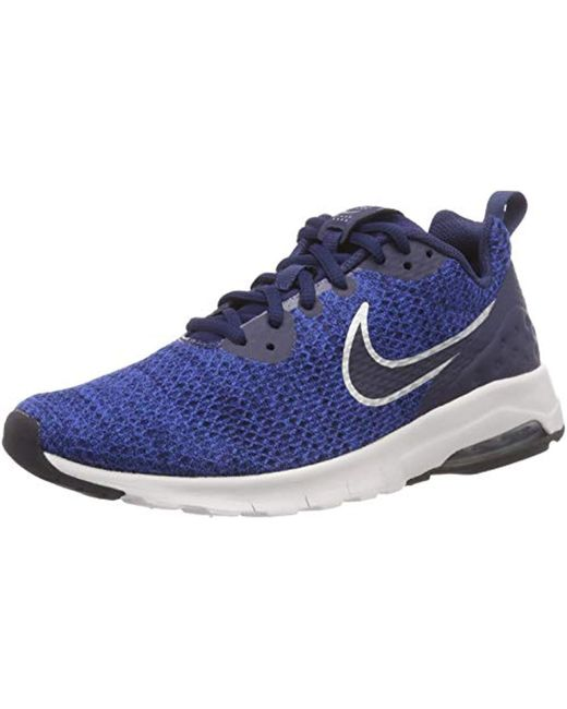 bcf5c10780 Nike Air Max Motion Low Cross Trainer in Blue for Men - Save 56% - Lyst