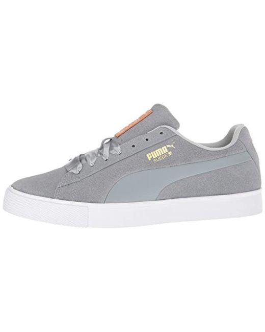 best service b540d 8f335 Women's Gray Suede Golf Shoe